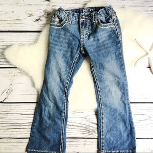 Cherokee • GIRLS Blue Boot Stretch JEANS SIZE 5
